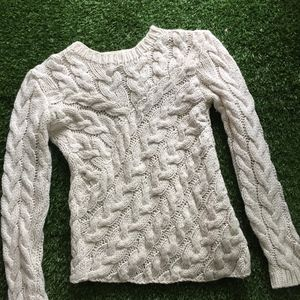 H&M Chunky Cable Knit Sweater XS